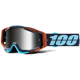 100% Racecraft Anti Fog Mirror goggles, ergono